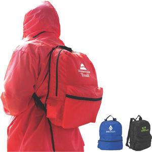 Rain backpack with jacket - Shumsky