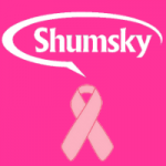 Shumsky Pink Ribbon for Breast Cancer Awareness