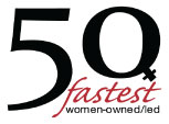 50 fastest women-owned/led