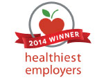 2014 Winner Healthiest Employees