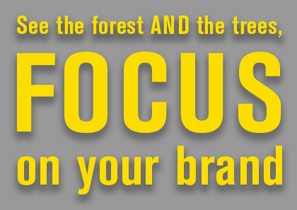 Focus on Your Brand Text