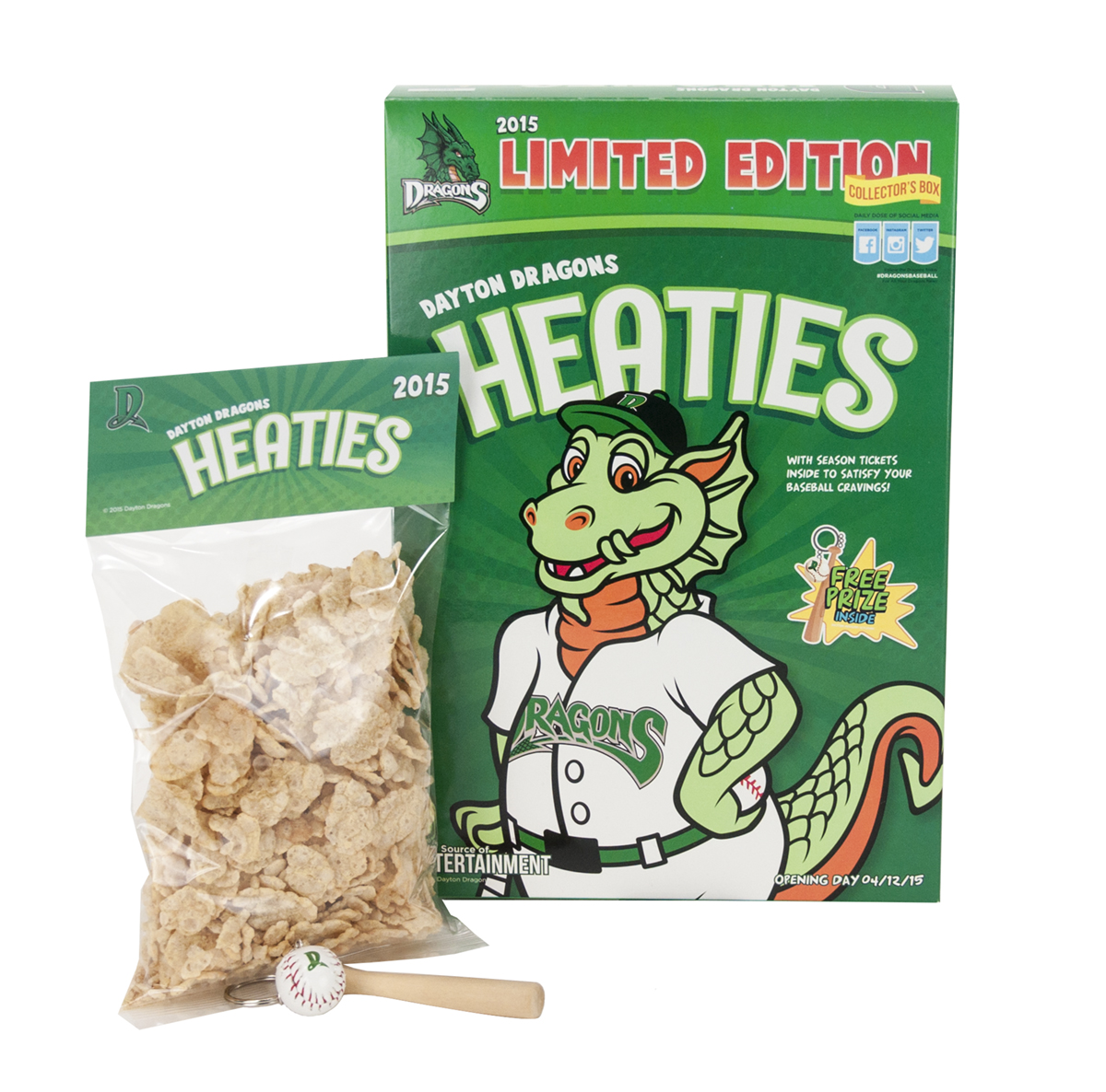 Dayton Dragons Heaties Campaign