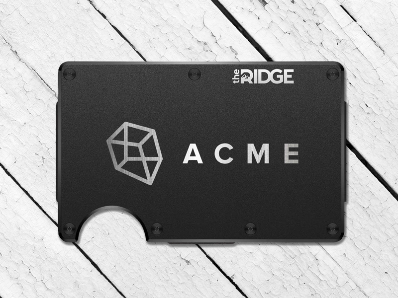 The Ridge Wallet