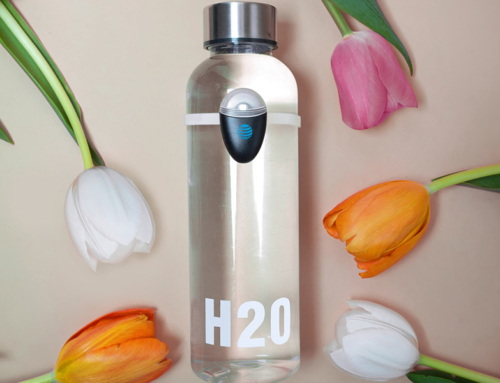 The World's First Hydration Reminder Bottle Attachment