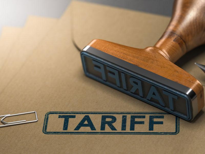 Tariff Update