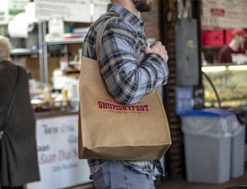 The Typhoon Washable Kraft Paper Grocery Tote