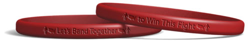 US Band Together SiliconeWristband