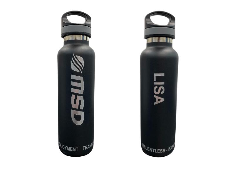 employee water bottle gift